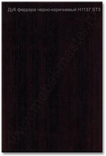 Для шкафов-купе лдсп egger (еггер) цвет дуб феррара черно-ко.